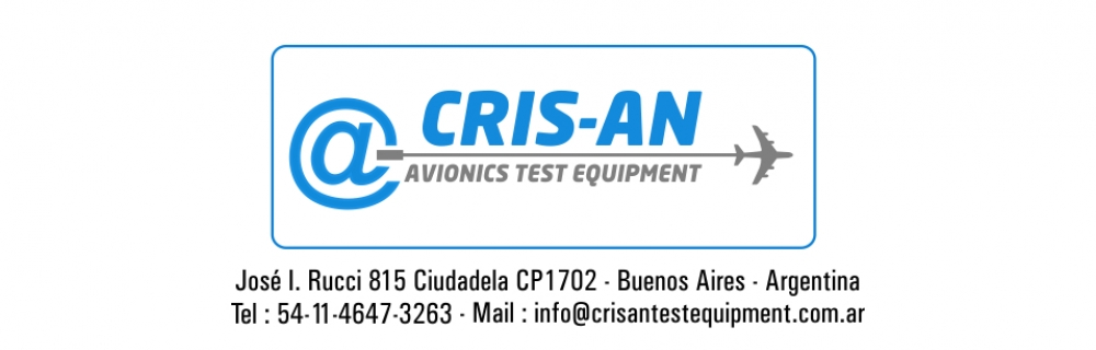 Cris-An Avionics Test Equipment>